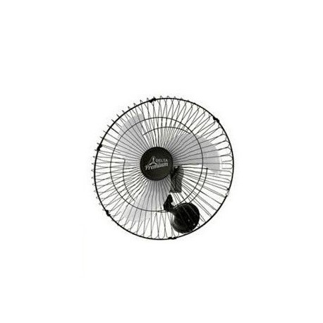 Ventilador 60 cm Oscilante Parede Preto - Venti-Delta