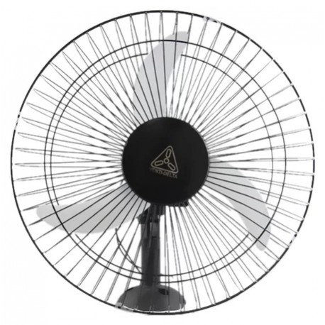 Ventilador 50 cm Oscilante Parede Preto - Venti-Delta