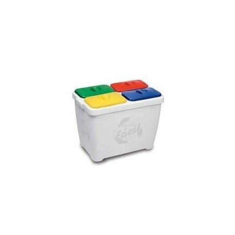 Lixeira Recicla Fácil 4x1 - Stop Limp